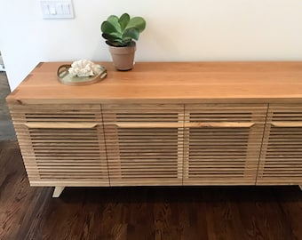 Record cabinet, Record storage, sideboard, credenza, media unit, media console, entertainment center, media credenza, record player stand