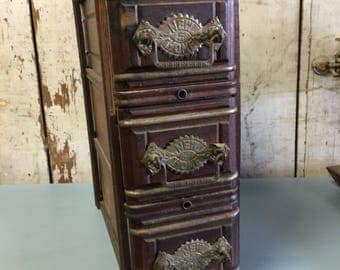Antique Sewing Machine Drawers Gift For Her