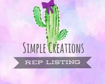 Rep listing