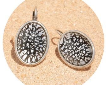 artjany earring black patina silver