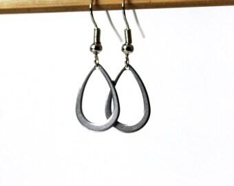 Sequin Silver earrings
