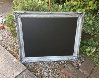 Lovely Distressed chalkboard - perfect for a wedding!
