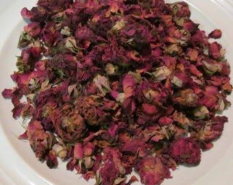 Rose Petals, Whole Red Rosebuds