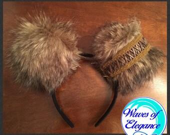 Wookie Chewbacca Themed Ears