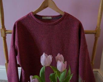 Women's fleece lounge top