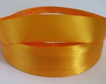 5 m Orange 20mm satin ribbon
