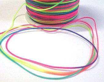 5 m thread multicolor nylon 1 mm
