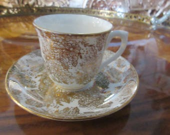 ENGLAND COCLOUGH DEMITASSE Cup and Saucer Set