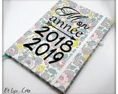 To order * 2018/2019 liberty /personnalisable school calendar