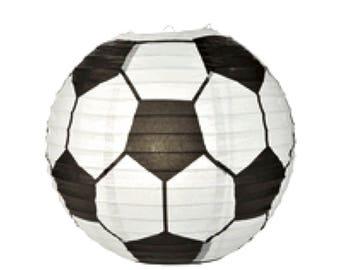 "14"" Soccer Paper Lantern........Parties......Decoration......Sport or School Events...."