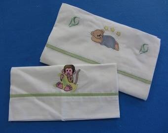 Baby crib sheet set