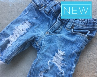 3T Toddler Girl Custom Denim Shorts