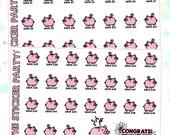 52 Week Saving Plan Planner Stickers Money Saving Stickers