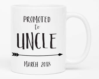 Baby Announcement Uncle, Pregnancy Announcement to Uncle, Gift for Uncle, Pregnancy Reveal to Family, Uncle Mug, Coffee Mug For Uncle