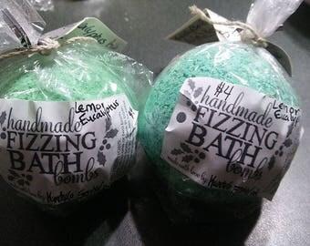 Lemon & Eucalyptus Bath Bomb