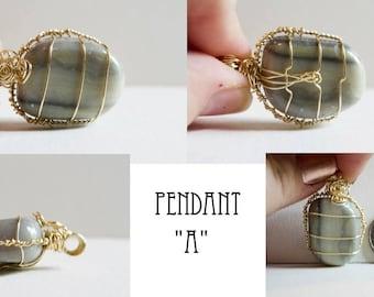 Infinite Stone Pendant