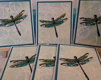 The Dragonfly card set . Symbolizing  change