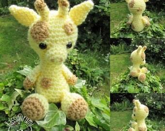 Abbie the giraffe medium amigurumi