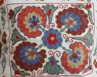 FREE SHIPPING!Suzani handmade pillow, pillowcase,pillow cover