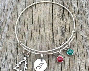 20%OFF Summer Sale- Christmas Bracelet - Christmas jewelry - Holiday bracelet - Winter - Holiday jewelry - Christmas gift - Christmas  - Gif