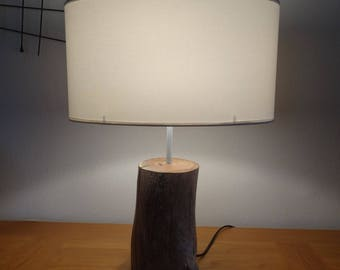 Very hard Driftwood lamp