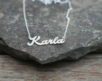Personalized Name Necklace • Custom Necklace • Personalised Jewelry • Handwriting Necklace • Wedding Gift • Gift for her • Name Choker
