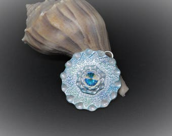 Mandala Pendent-Swarovski pendent- Peaceful Tide