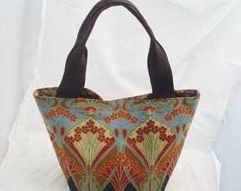 Handmade Tote Handbag from Vintage Liberty of London Ianthe pattern Fabric Free UK Postage