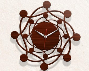 Antique Ball Geometric Wall clock