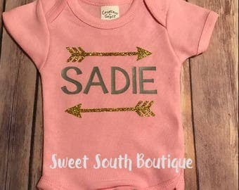 Arrows and name top for Babies & toddler