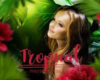 21 Tropical photo overlays