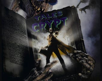 Back to School Sale: DEMON KNIGHT Movie Poster Tales From the Crypt HBO