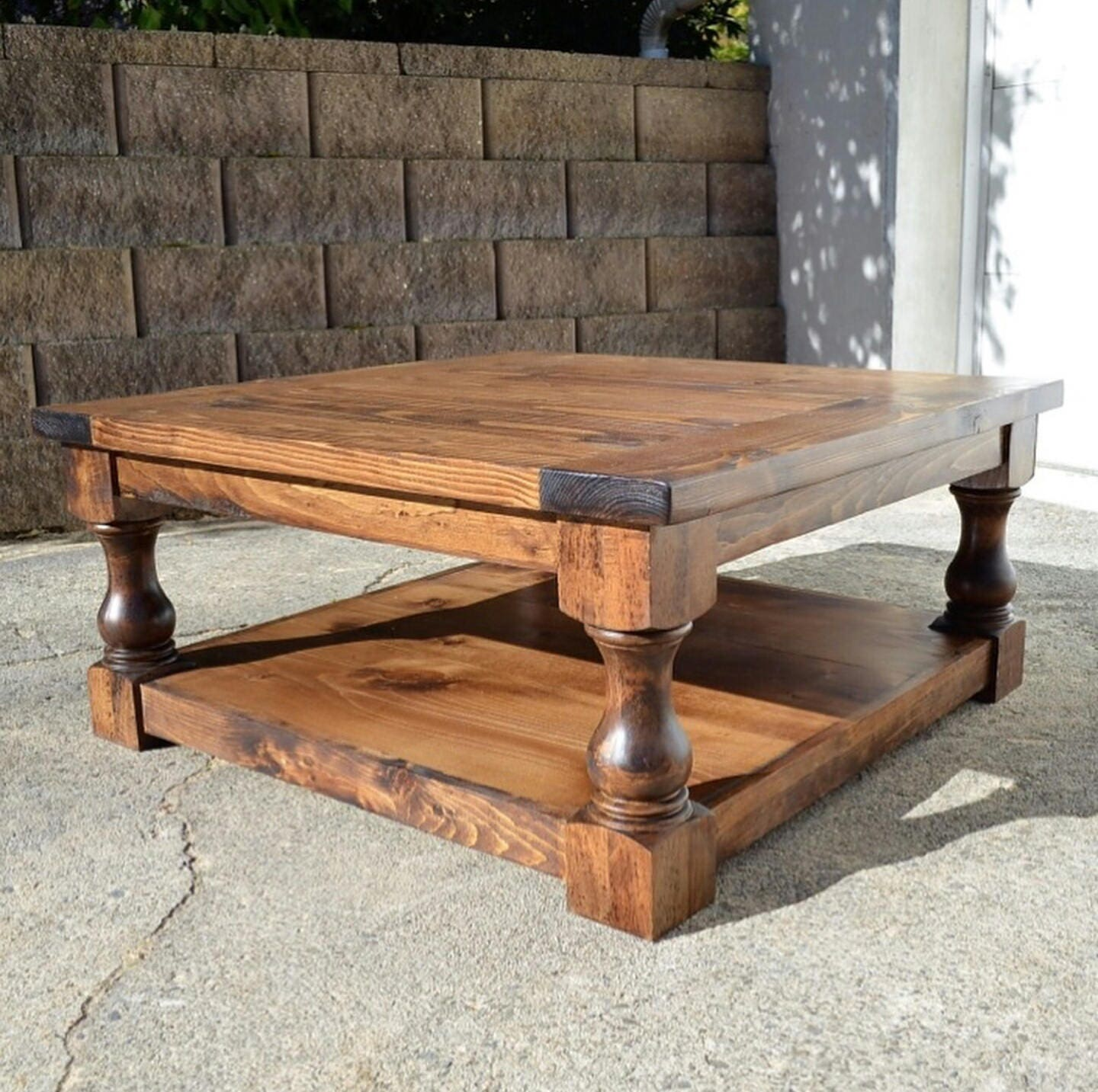 18 Traditional Bench Legs or Coffee Table Legs Unfinished Wood