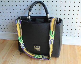 Handbags Strap- Bag Strap- Guitar Bag Strap- African Print Strap- Guitar Strap- Replacement Straps- Purse Strap- Shoulder Strap- Women