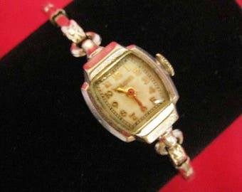 Vintage Ladies Bulova 10K Gold Filled Watch
