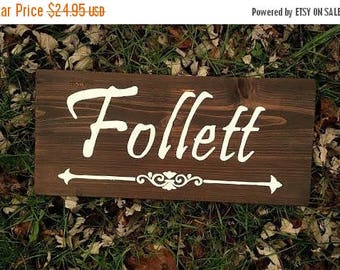 SALE Last Name Plaque, Last Name Wood Sign, Personalized Wooden Signs, Housewarming Gift,  Family Name Signs, Welcome Signs,Wedding Signs Wo