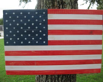 Wooden Wall Art American Flag, Patriotic Wall Decor, Wood American Flag,  Porch Décor Part 28
