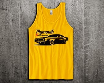 Plymouth Barracuda Tank Top, Dodge t shirts, Vintage cars shirts, cars tanks, Barracuda  shirts, Classic dodge t shirts, Unisex Tank top