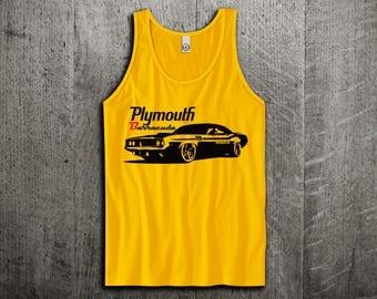 Plymouth Barracuda Tank Top, Dodge t shirts, Vintage cars shirts, cars tanks, Barracuda  shirts, Classic dodge t shirts, Unisex Tank top