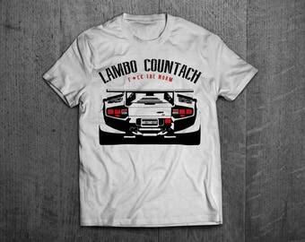 Lamborghini shirts, lamborghini countach shirts, Lambo t shirts, men tshirts, women t shirts, lambo Cars t shirts, Italian car shirt