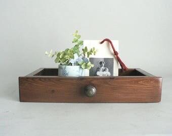 Small Wood Drawer Decorative Display Box