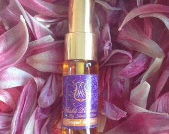 Bouquet de Fées too feminine Eau de Parfum 10ml - Jasmine,  Osmanthus, Ylang Ylang, Vanilla and Patchouli. A sensual dreamy blend.