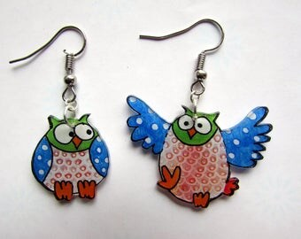 Duo of blue owls
