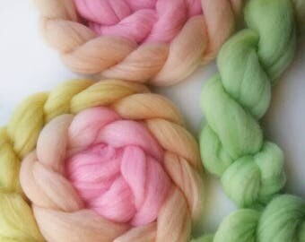 Corriedale Roving - FREE US SHIPPING - 4.6 oz. Ready to Ship!