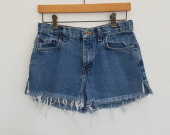 Vintage Denim Cut-off Shorts