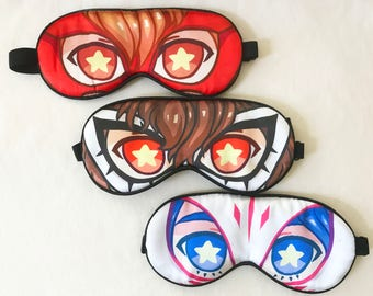Persona 5 Silk Sleep Masks (Yusuke, Akechi) MC Temporarily Out of Stock!