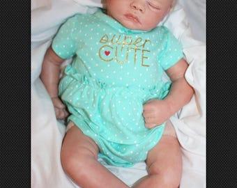 "Custom 20"" Reborn Meg Newborn Baby Doll"