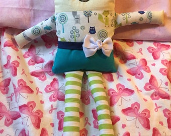 Sweet Dreamers Hand made cloth doll