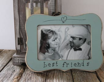 Best Friend Picture Frame, Bestie Frame, Christmas Gift For Friends, Bestie Frame