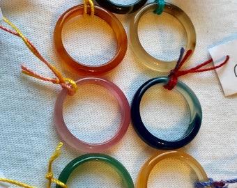 Agate Rings, Rings, Brazilian Agate, Ring Bands